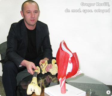 Gregor Kavčič, dr. med. spec. ortoped
